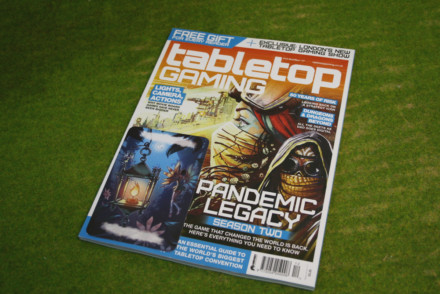 TABLETOP GAMING MAGAZINE Issue 12 October/November 2017