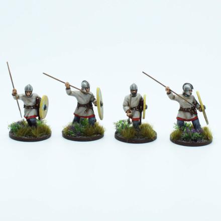 Late Roman Javelinmen Footsore Miniatures SAGA 03LRM113