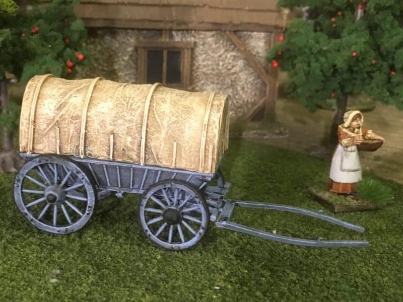 Perry's British Ammunition Wagon