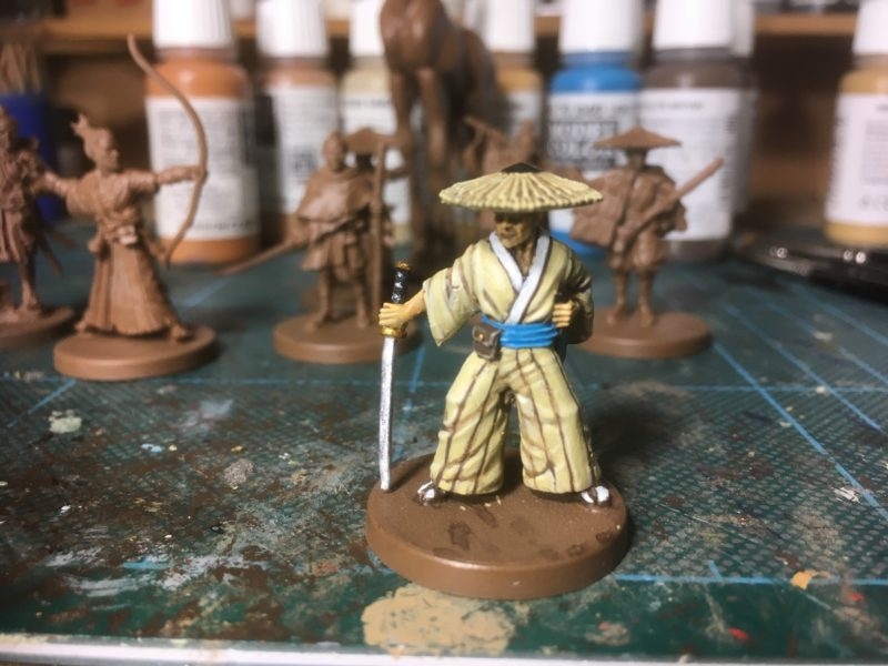 First Bandit on the work bench