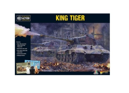 German King Tiger Tank Bolt Action Warlord Games 28mm SD