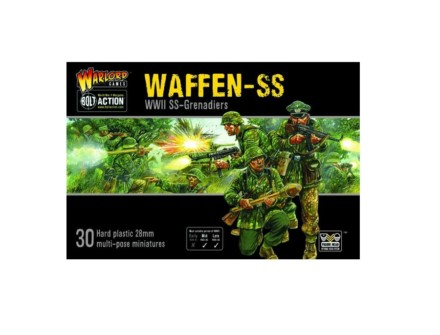 German Waffen SS Bolt Action Warlord Games 28mm SD