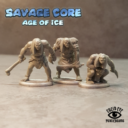 Lucid Eye Age of Ice Corelock Bods #2 Savage Core 28mm Core2