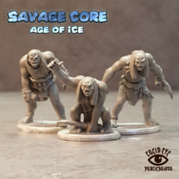 Lucid Eye Age of Ice Corelock Bods #1 Savage Core 28mm Core1
