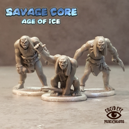 Lucid Eye Age of Ice Corelock Bods #1 Savage Core 28mm Core1
