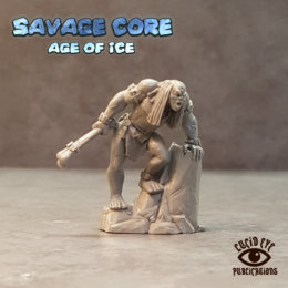 Lucid Eye Age of Ice Corelock Boss Gog Maggolat the Maw Savage Core 28mm CoreB