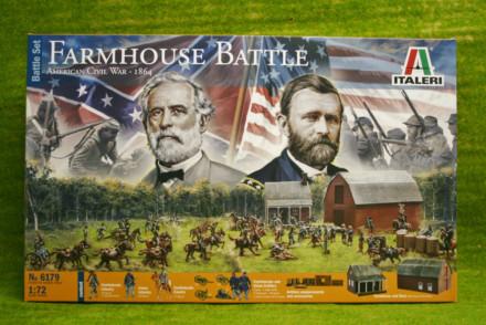 Farm House Battle ACW 1864 1/72 Italeri 6179