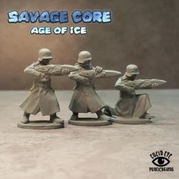 Lucid Eye Age of Ice Projekt Sturm Bods #1 Savage Core 28mm Sturm1