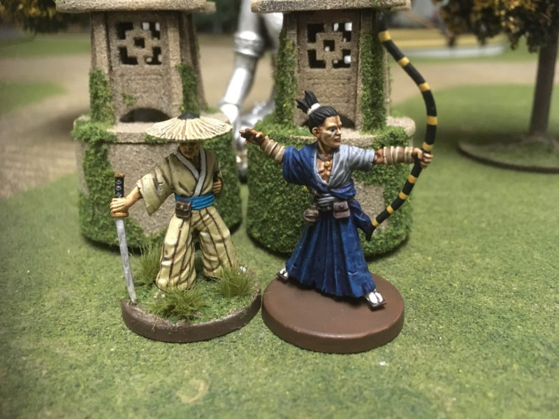 First two figures from the Bandits and Brigands set
