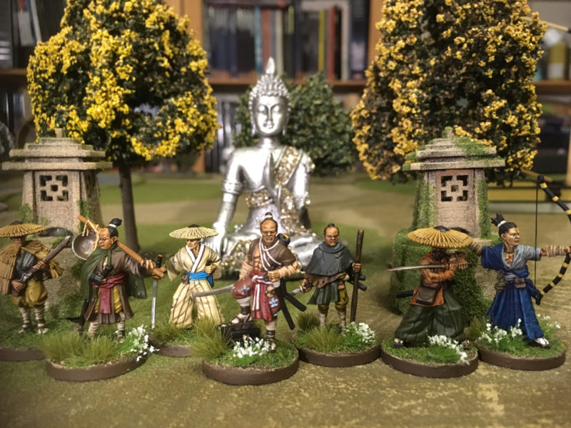 Bandits and Brigands Boxed set done!