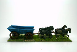 PLANK SIDED WAGON – EXTRA HORSES OFFER! Trent Miniatures 28mm Wargames