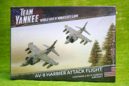 AV-8 HARRIER ATTACK FLIGHT Flames of War 15mm TUBX12