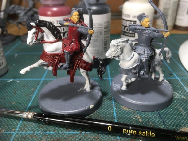 Samurai mounted archers