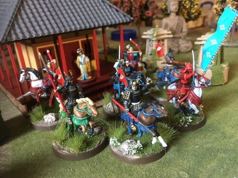 Takeda Naoko's warband ride out to seek vengegance!