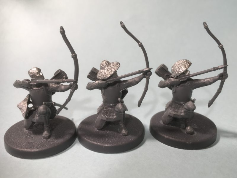 Kneeling Archers