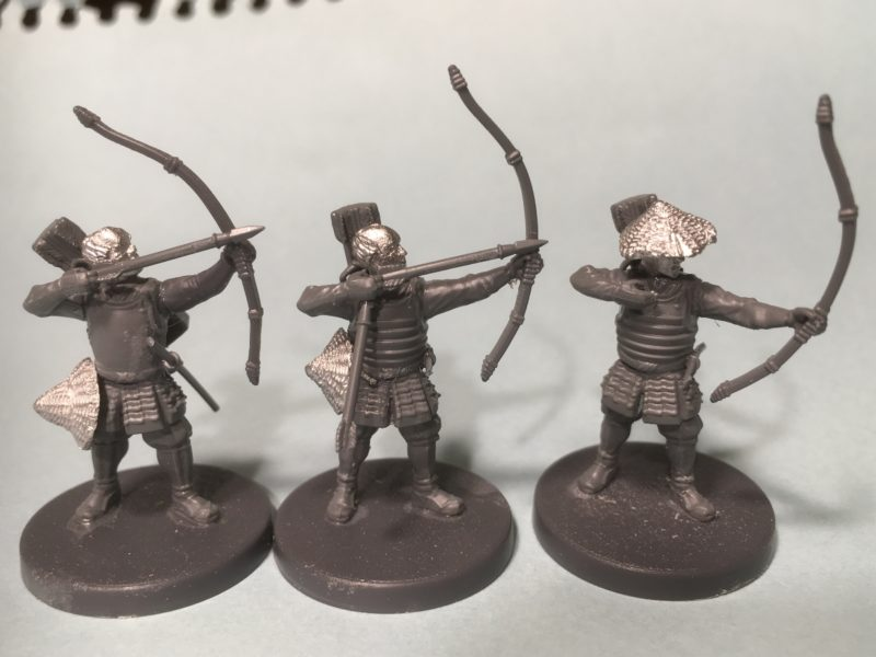 Standing archers