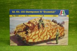Italeri Sd. Kfz. 166 Sturmpanzer IV Brummbar 1/72 Kit 7050