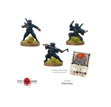Test of Honour Ninja Blister #1 Games 28mm SD