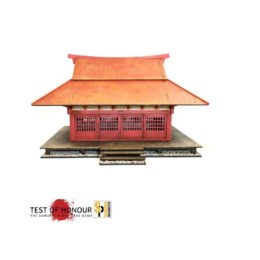 Japan Dojo SAMURAI/ JAPANESE 28mm Laser cut MDF scale Building B032