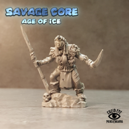 Lucid Eye Age of Ice Cul The Flay Priest Savage Core 28mm CUL