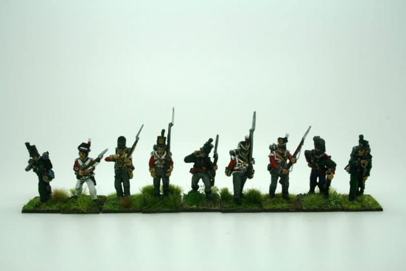 Infantry comparisons