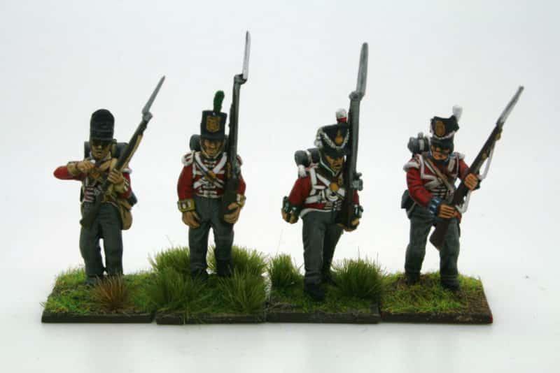 Line infantry Comparison