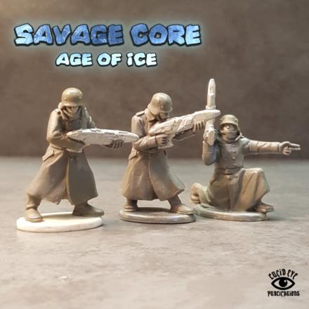 Lucid Eye Age of Ice Projekt Sturm Bods #2 Savage Core 28mm Sturm2