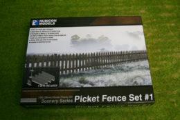 Rubicon Models Picket Fence Set #1 RU-283002