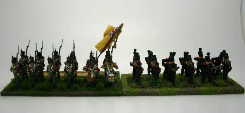 Regiment Comparison