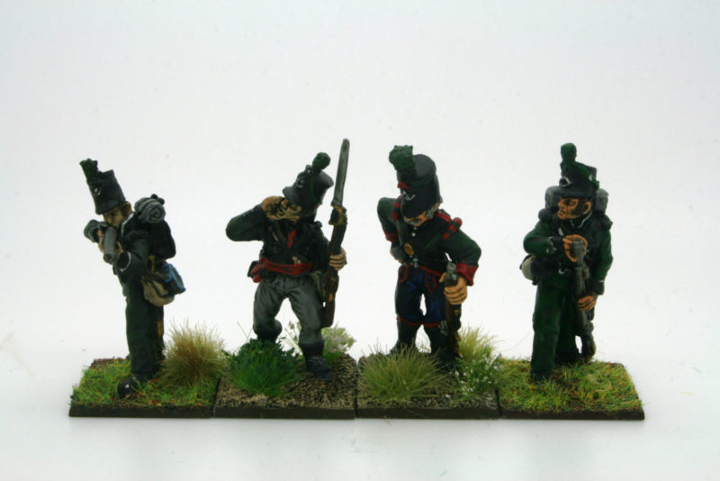 Light infantry Comparison