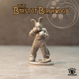 Lucid Eye Beast of Birchwood The Sleeping Field Mouse 28mm Mouse