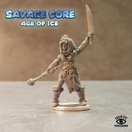 Lucid Eye Age of Ice Vahira The Herd Witch Savage Core 28mm VAH