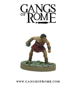 Gangs of Rome Fighter Secundus War Banner Footsore Miniatures WBGOR002