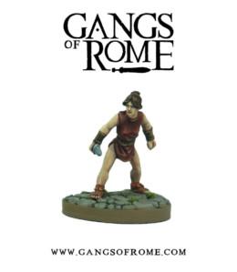 Gangs of Rome Fighter Septimus War Banner Footsore Miniatures WBGOR007
