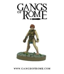 Gangs of Rome Fighter Octavus War Banner Footsore Miniatures WBGOR008