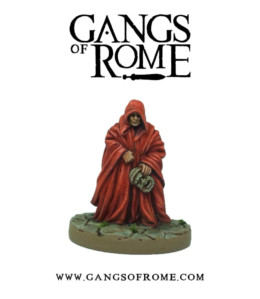 Gangs of Rome Agente War Banner Footsore Miniatures WBGOR105