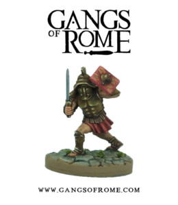 Gangs of Rome Gladiator Ally War Banner Footsore Miniatures WBGOR106