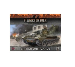 BRITISH ARMIES OF LATE-WAR UNIT CARDS Flames of War FW130B