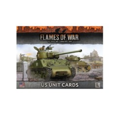 US ARMIES OF LATE-WAR UNIT CARDS Flames of War FW130U