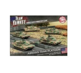 ABRAMS TANK PLATOON Flames of War 15mm TUBX08