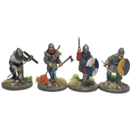 Viking Hirdmen #3 Footsore Miniatures SAGA 03VIK114