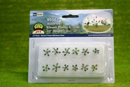 Assorted Flower PLants HO/OO Scale LS95561