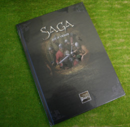 Saga AGE OF VIKINGS Rules Supplement and Battleboards Studio Tomahawk