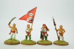 Victorious Miniatures Chinese Boxer Command BOXINF01