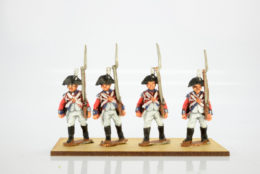 Victorious Miniatures British Line Infantry Bicorn Flank Coy. Marching  NAPBR14