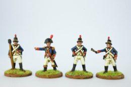 Victorious Miniatures British Artillery Crew Firing NAPBRA02