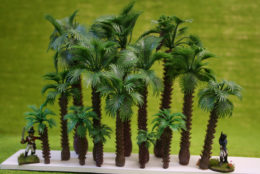 Arcane Scenery Pack of PALM TREES Variant 'Robellini' pack of 15 pieces