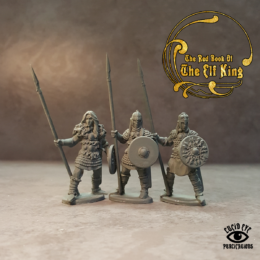 Lucid Eye Red Book of the Elf King COMPANIONS pack 2 28mm COMP2