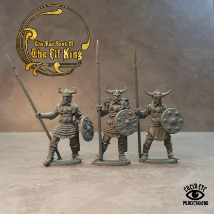 Lucid Eye Red Book of the Elf King THE COMPANIONS pack 1 28mm COMP1