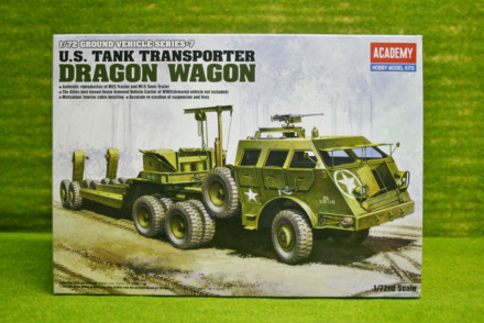 U.S. US TANK TRANSPORTER DRAGON WAGON Academy 1/72 kit 13409